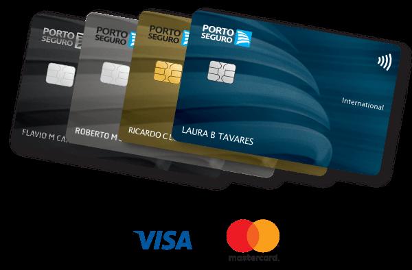 Cartões de Crédito Porto Seguro (Visa ou Mastercard)